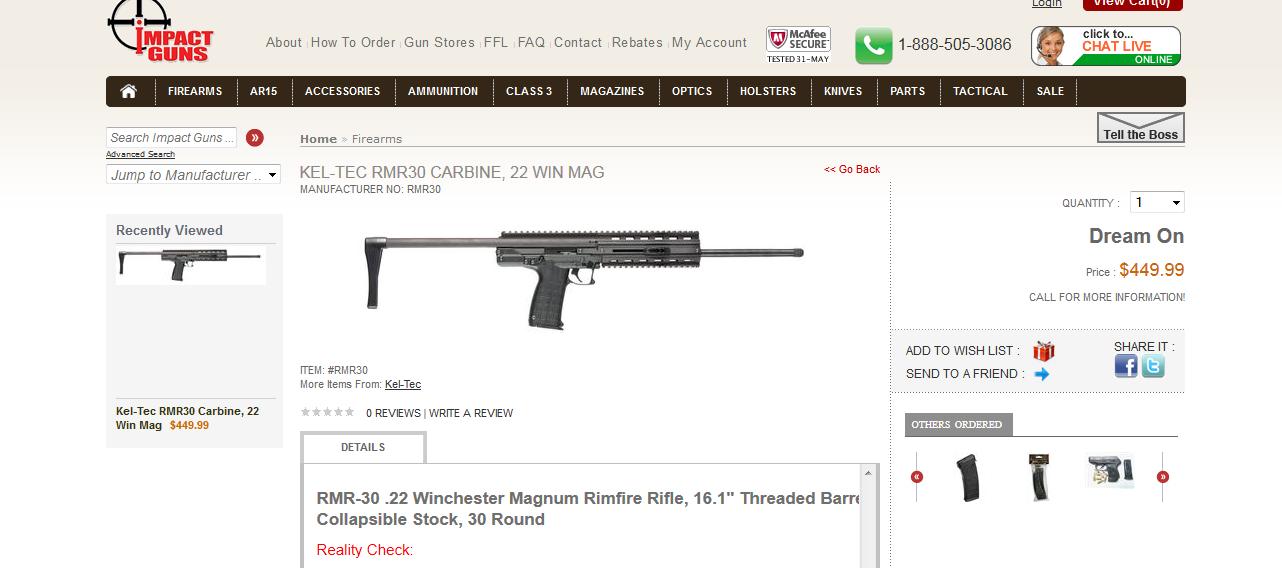 RMR-30 Carbine