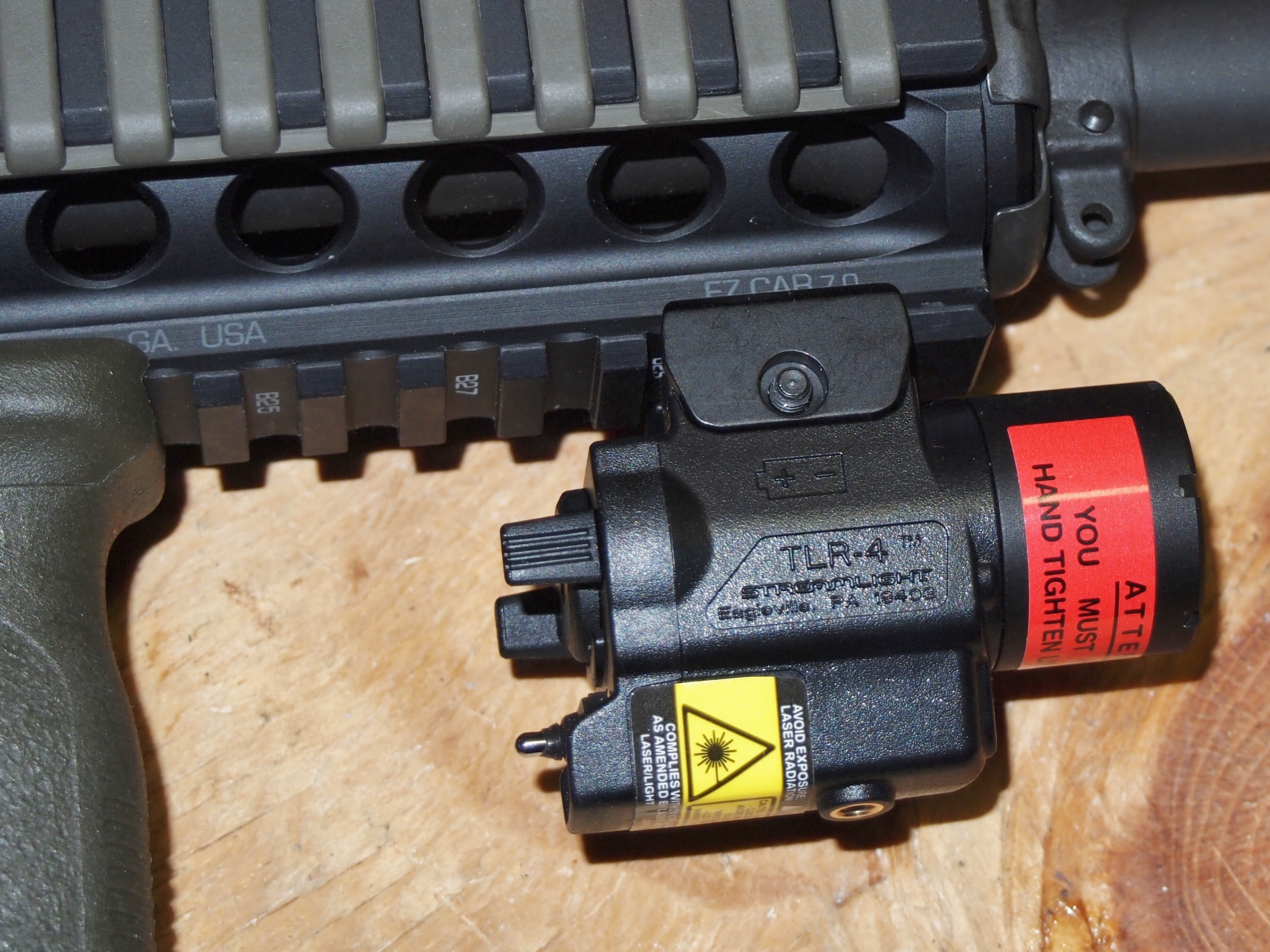 review streamlight tlr 4 weapon light and laser gunmart blog. Black Bedroom Furniture Sets. Home Design Ideas