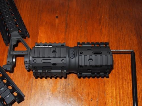 Ballista AR15 Nautilus Rotating Rail